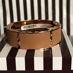 Just In! Henri Bendel Leather Cuff Bracelet